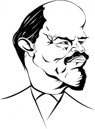 Caricature clipart Caricature Lenin Vector 22 Clipart
