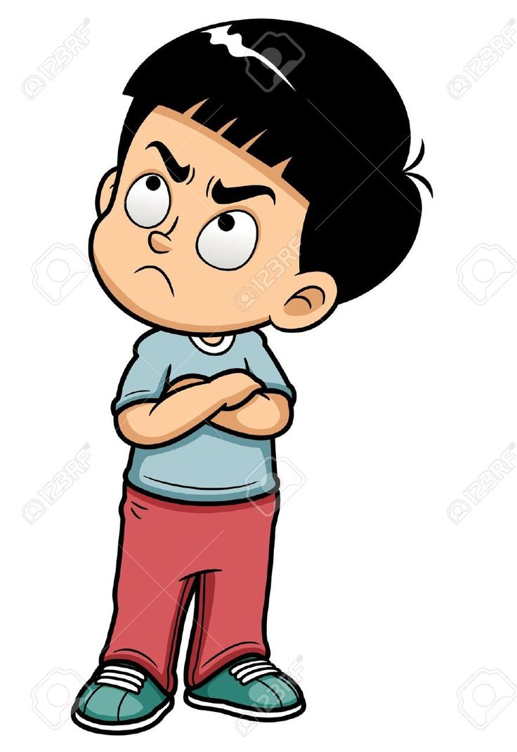 Caricature clipart angry baby Illustration truths 103 big kids