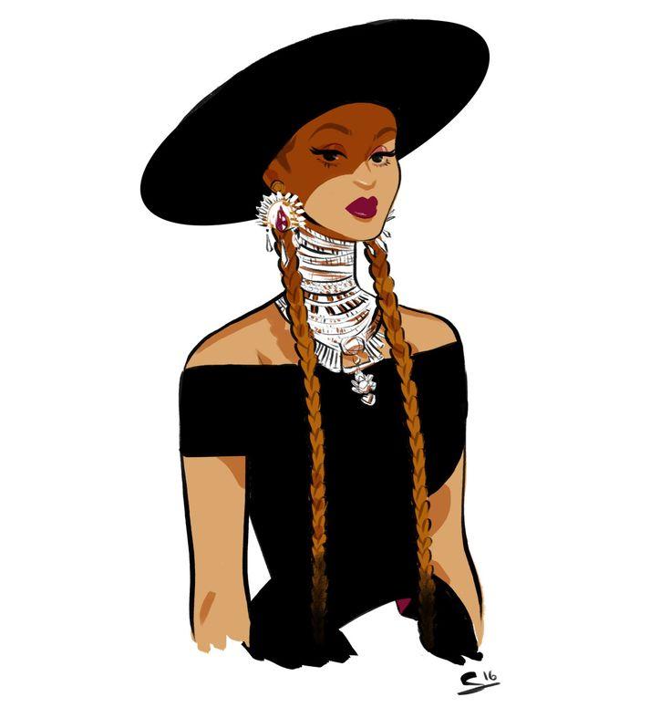 Caricature clipart beyonce Sketchblog on Pinterest Formation best
