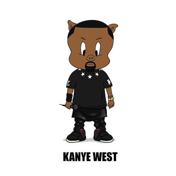 Caricature clipart kanye west More Rocky  tv MissInfo