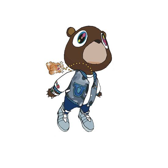 Caricature clipart kanye west WEST 61 on best Bear