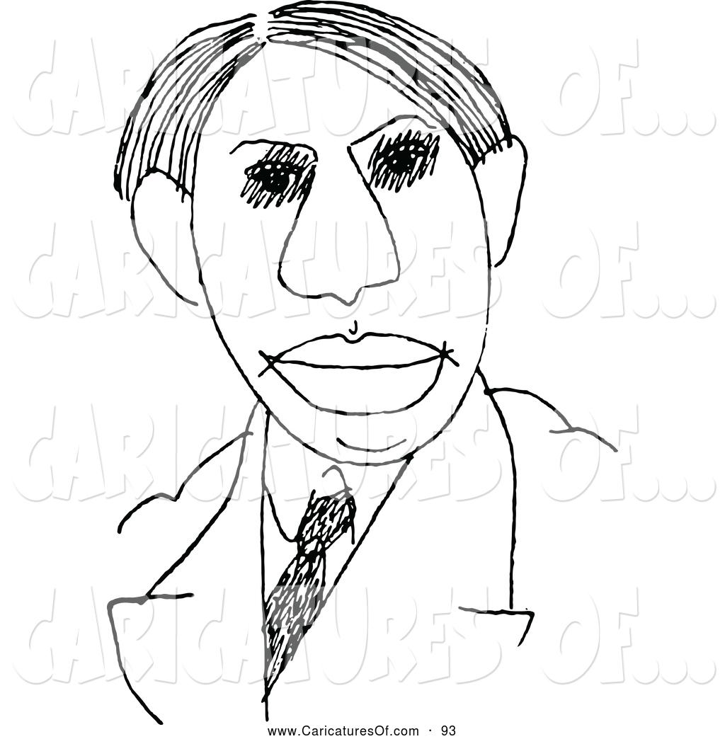 Caricature clipart president Prawny Clipart Male Clip Caricature