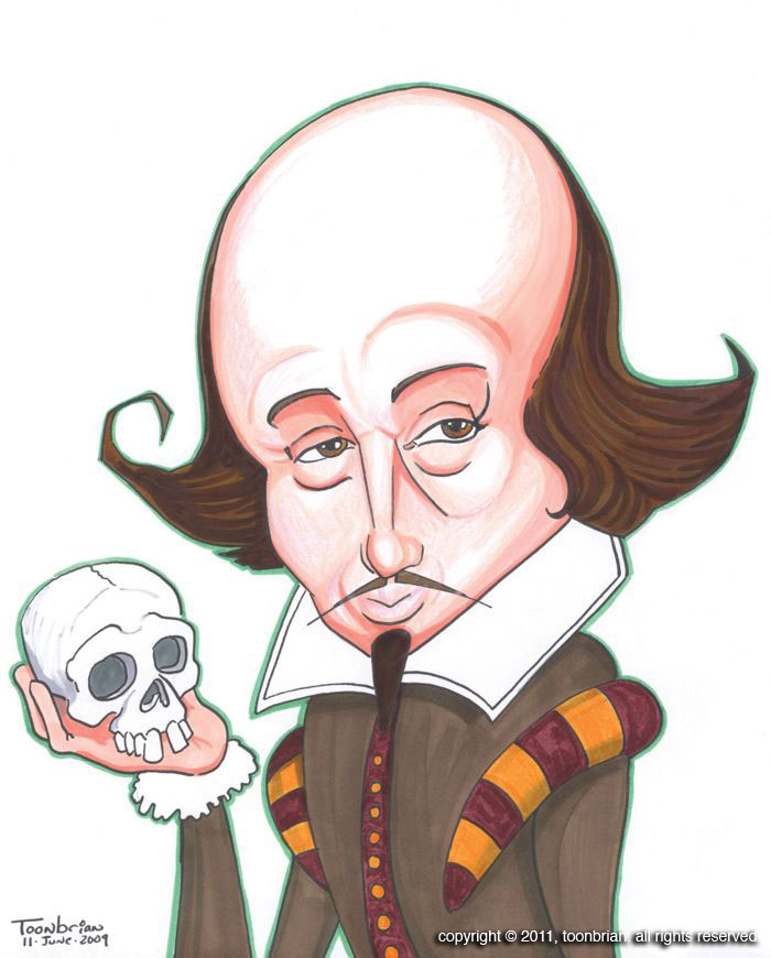 Caricature clipart angry baby ) Kumpulan Of Shakespeare Caricature