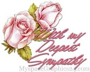 Carnation clipart sympathy Deepest Graphics  Sympathy &