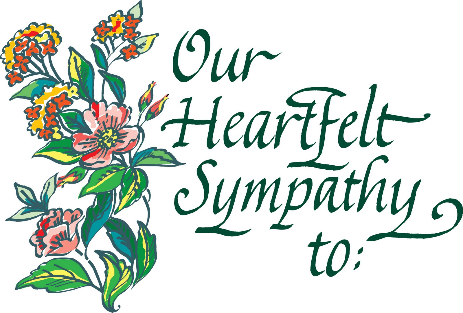 Carnation clipart sympathy Clipart sympathy collection and Cliparts