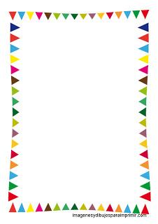 Carneval clipart banderitas Para infantiles MARCOS imprimir fiestas