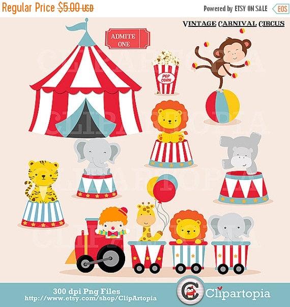 Carneval clipart circus train Circus art Personal Carnival