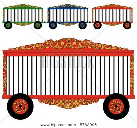 Carneval clipart circus train Circus Vector Animal Circus &