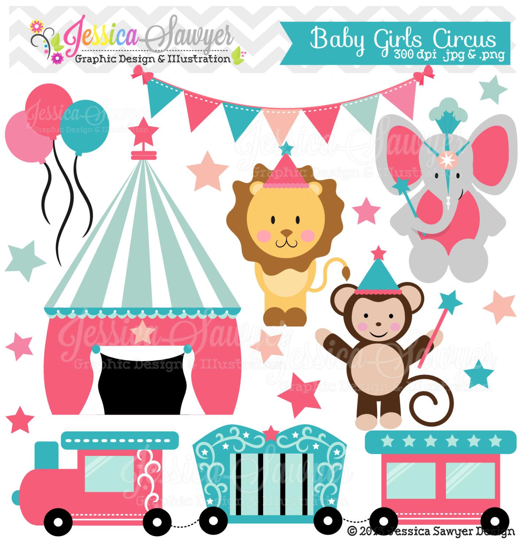 Carneval clipart circus train Baby Clipart Baby Clipart Circus