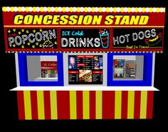 Carneval clipart concession stand Concession Bible Summer & Concession