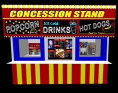 Carneval clipart concession stand Concession Summer & Concession League