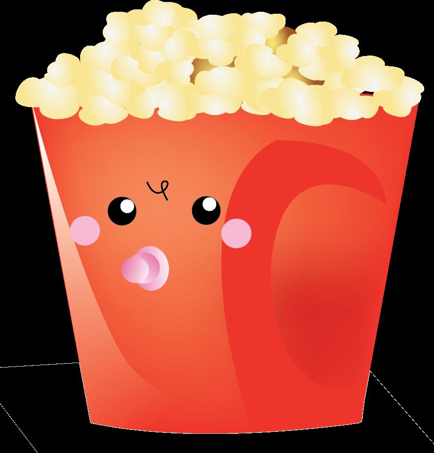 Popcorn clipart cute Carnival popcorn popcorn clipart art