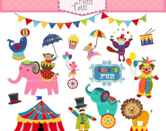Decoration clipart circus Animal Clipart clip ON animals