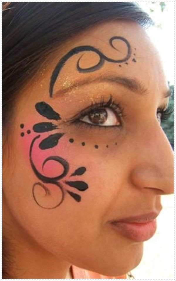 Carneval clipart face painting Up Easy Pinterest Life 25+