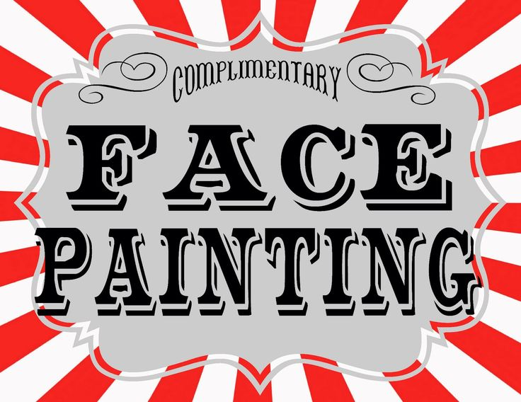 Carneval clipart face painting Tips and Face Tips Pin