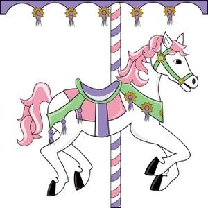 Ride clipart carousel  Clipart on Carousel themed