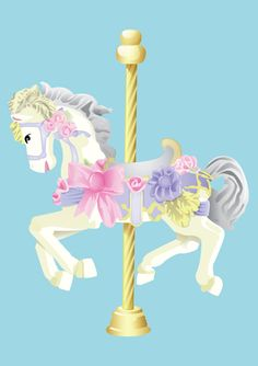 Carousel clipart carnival Funfair horse Horse Carousel Clipart