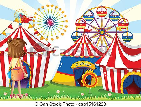 Carneval clipart logo Carnival Illustration csp15161223 girl girl