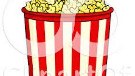 Carneval clipart popcorn bucket Popcorn Free  Clipart Of