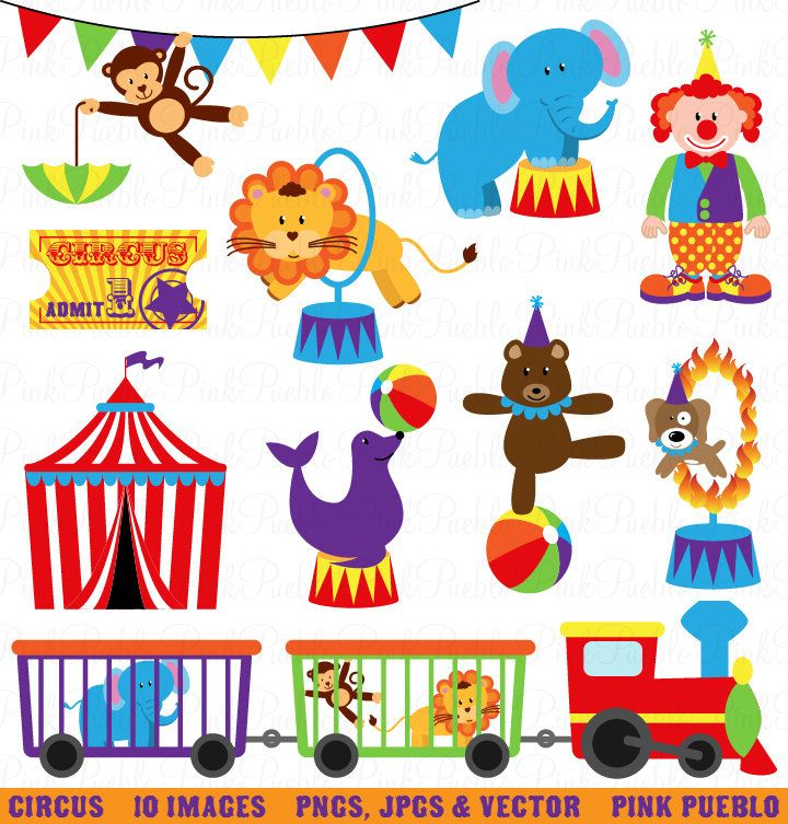 Carneval clipart setting Clipart Circus Carnival and Invitations