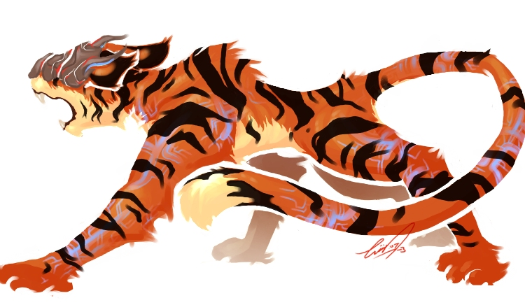 Carneval clipart tiger DeviantArt Neo logged by Tiger