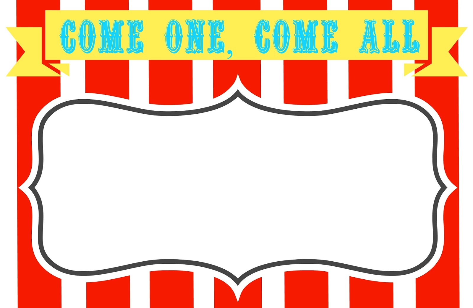 Carnival clipart Template com Cliparting signs 6