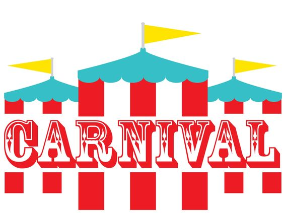 Carneval clipart background Carnival Games School clip Download