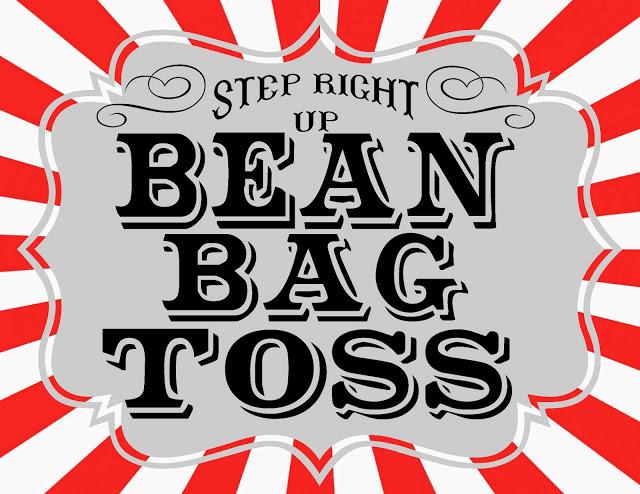 Carneval clipart bean bag toss Party bags Printables Part Bean