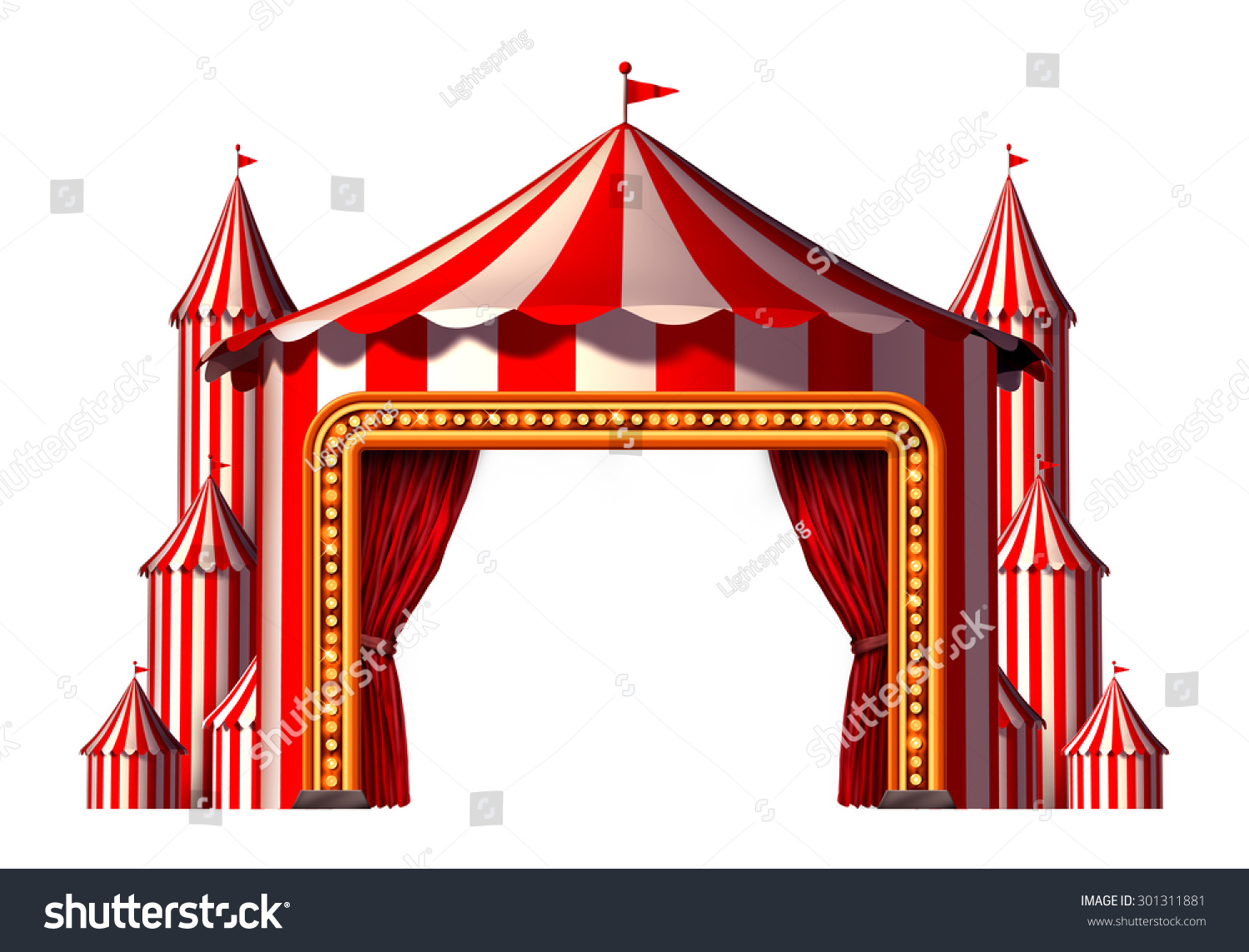 Carneval clipart big top Big Stage top Space Carnival