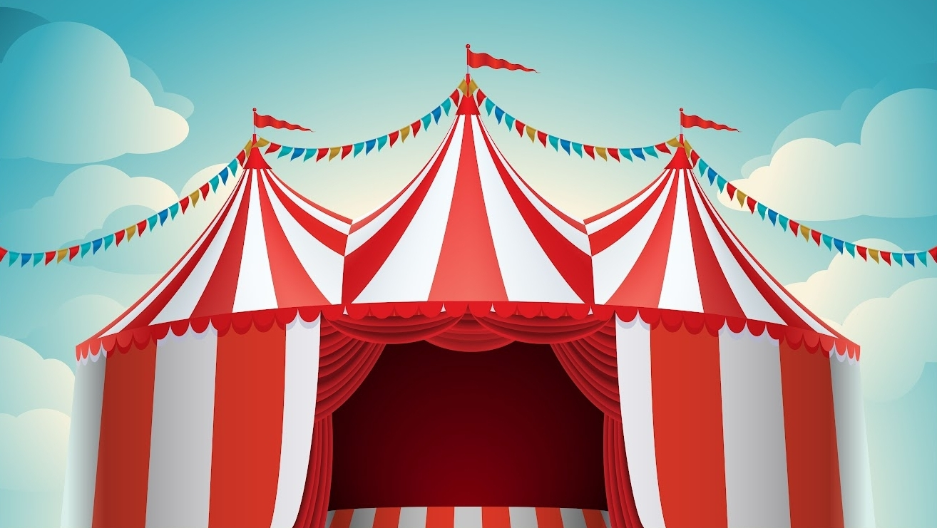Carneval clipart big top Fun carnival our IYEgYJ for