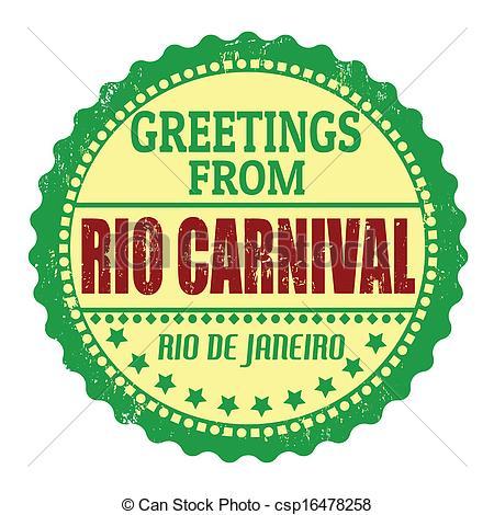 Rio De Janeiro clipart  postage Clipart mark from