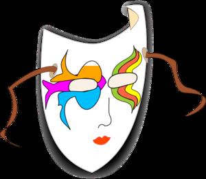 Carneval clipart carnival mask At art Mask online