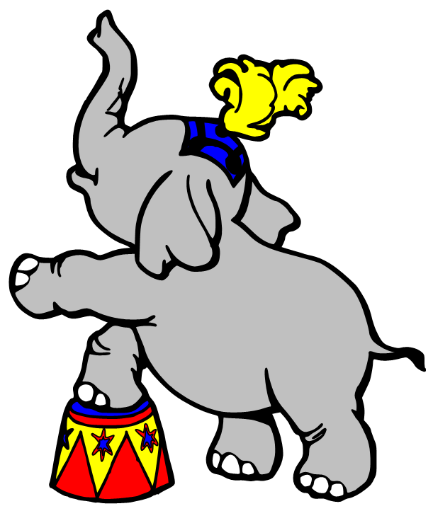 Carneval clipart circus animal & I for a when
