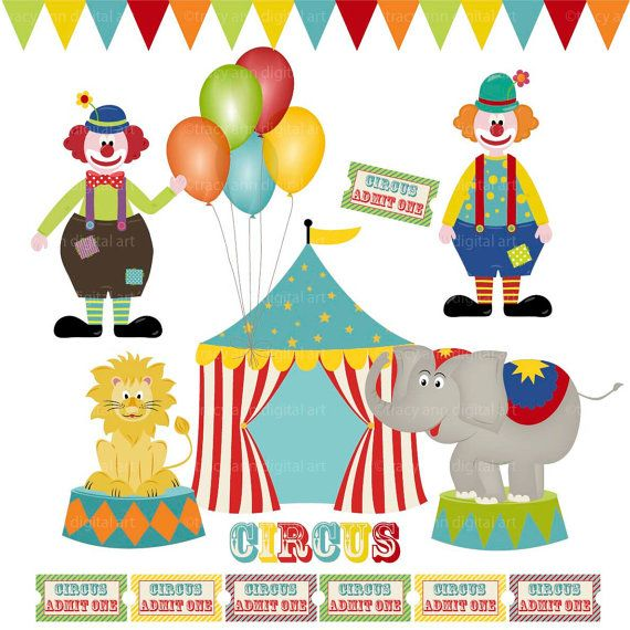 Carneval clipart circus animal Tent Art Art best Pinterest