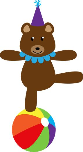 Carneval clipart circus bear BEAR 124 images on TEDDY