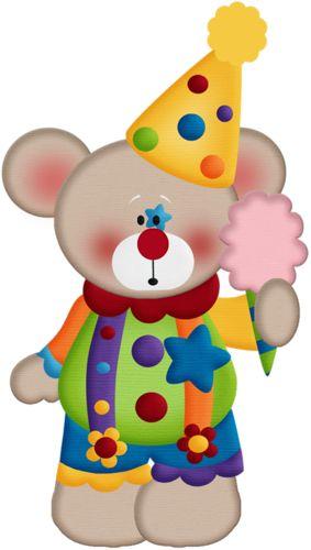 Carneval clipart circus bear Png · aw_circus_bear Printables 3