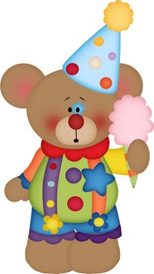 Carneval clipart circus bear Pantins ArtsPrintable 174 the Big