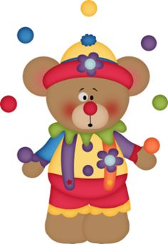 Carneval clipart circus bear CIRCO Pinterest the Big BearsBig