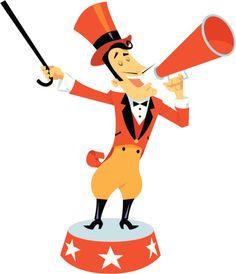 Carnival clipart circus ringmaster Circus Circus Pink Search clipart