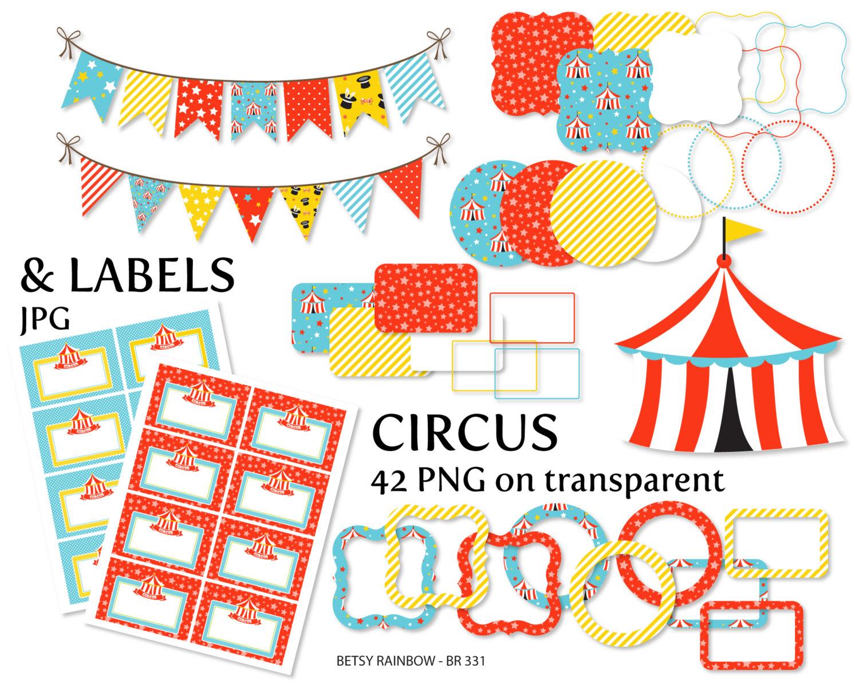 Circus clipart pastel Clipart clipart alpha Circus a