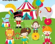 Carneval clipart circus train Circus Circus Lion Personal Clipart