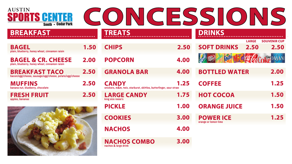 Football clipart concession stand Food for Concession Food OSM