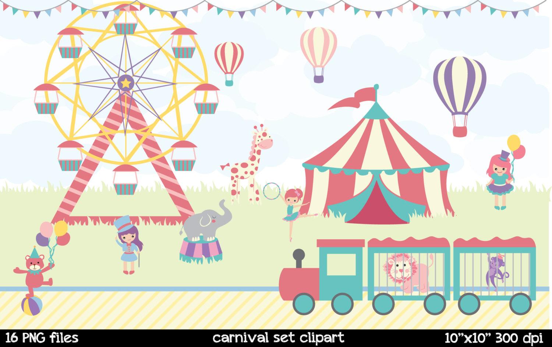 Camel clipart circus elephant  file Cute a Carnival