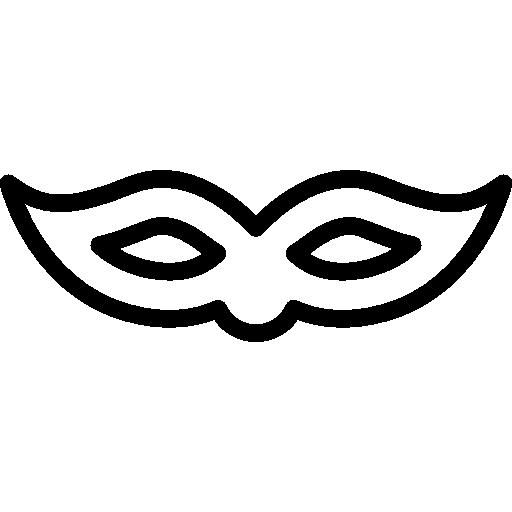 Carnival clipart eye mask Icon carnival SVG PNG Eye