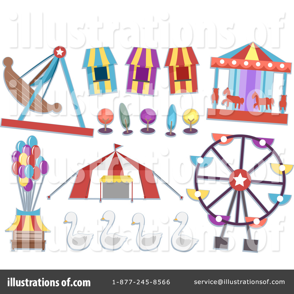 Carousel clipart carnival Carnival by Clipart Illustration BNP