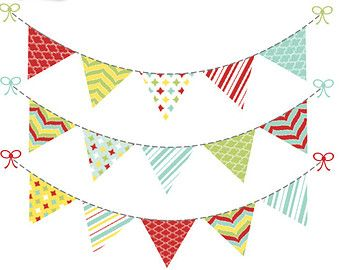 Carnival clipart flag banner On · images Baby Pinterest
