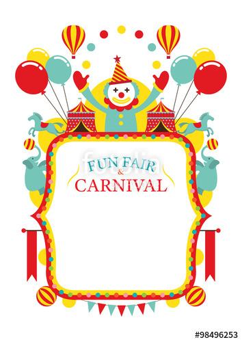 Carneval clipart fun park Circus Fair image Fun 98496230