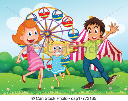 Carneval clipart happy In at the happy family