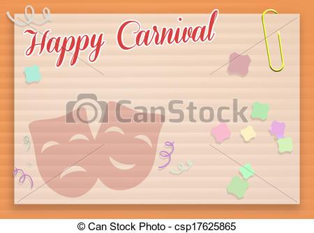 Carneval clipart happy Happy Carnival Illustration Happy of
