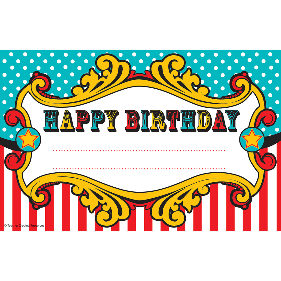 Carneval clipart happy birthday TCR5806 Resources Awards Carnival Carnival